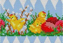 вязані яйця