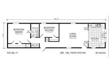 mobile houses floor plans