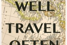 Travel Quotes / A collection of our favourite travel quotes that keep us inspired