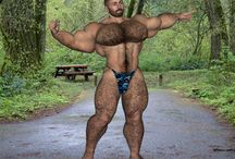 [Dudley-Furry] Bodybuilder Hairy Muscle Bear / Bodybeef model 'Dudley' - Visit http://www.bodybeef.com/studios/dudley---premium-sets for Dudley's nude photo sets!
