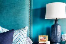 BLUE HOME DECOR / #déco #bleu #blue #home #decor