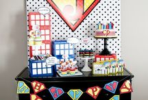 superhero party / superhero party ideas for children and kids