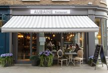 Aubaine Marylebone  / Aubaie Marylebone opened a month ago. It is situated on Monxon Street just off Marylebone High Street - More info on our website www.aubaine.co.uk