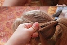 Girls hair