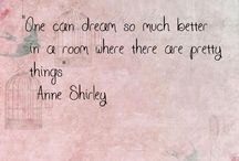 the fabulous Anne Shirley