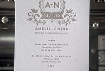 Wedding invitation -stylish