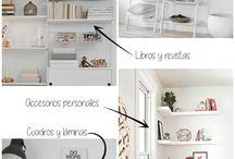 Shelves deco