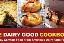 The Dairy Good Cookbook / Check out these mouth-watering recipes that are directly from or inspired by America's nearly 47,000 dairy farm families. Learn more about our cookbook here: http://dairygood.org/cookbook