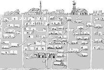 Derinkuyu - The Underground City-Turkey / The Hustory of man kind.