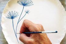 Peinture céramique
