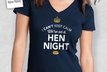 Hen Night Gift Ideas / Gifts for the Hen Night. From mugs and shirts and from bestselling bags and keepsakes to laser engraved gifts for the Hen Night. Something special and original to cater for the special day, helping to make the perfect wedding.