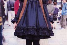 Gothic lolita style.