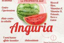 Frutta e verdure le proprietà