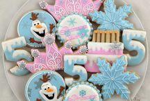 Icing cookies Christmas / アイシングクッキー 栗益々