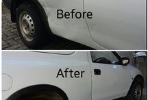 "Before & After / Pics of vehicles before and after the repair......just to ""brag"" a little...:-)"