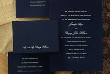 Invitations and little extras