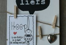 DIY: knutselen & decoratie / Ideeen om te knutselen met kinderen (thema) en div decoratie tips.
