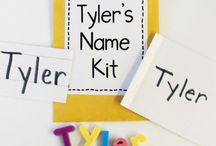 Kindergarten Name Activities
