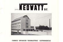 NEOWATT B. C. / Fabbrica di apparecchi termoelettrici ed elettromedicali attiva a Milano dagli anni '30 agli anni '60.