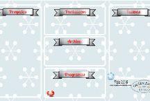 NAVIDAD 2014-2015 / Ideas de decoración y organización de la Navidad del 2015