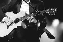 Chanyeol with guitar