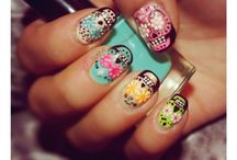 Holloween nail ideas