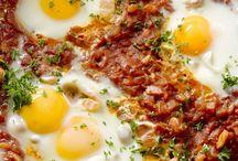 Eieren/tomaat gerecht
