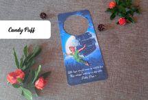 Marcador de Porta / Door Hanger