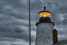 A BEACON IN THE NIGHT / Lighthouses / by Debbie Kerns