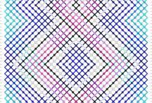 patrones pulseras / patrones para pulseras macrame
