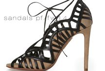 Aquazzura PF/FW14 Sandals / Aquazzura's Sexy, Strappy, Lace-ups for PF/FW 14. All Made in Italy.