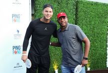Ping Pong Charity Event / Doc Rivers and Blake Griffin attended Dodgers' pitcher Clayton Kershaw's ping pong charity event on 7/30. / by LA Clippers