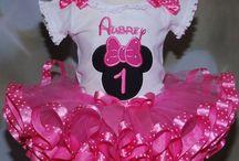 Lauren's 1st birthday - Minnie Mouse!