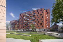 Sociale woningbouw / a33 architecten / a33 architecten, projecten, sociale woningbouw