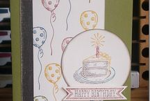 Stampin' Up! - Sketched Birthday / Jaarcatalogus /Annual catalogue 2014-2015