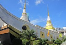 Bangkok's hidden temples / The temples of Bangkok's that the tourists don't visit. These places of Buddhist worship are beautiful, and they don't have the crowds of westerners. A great way to see traditional Thai culture