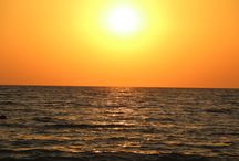 #sea #sunset #sun #Sochi #nature