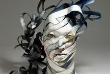 Haejin Lee / Haejin Lee - Ceramic Sculptures. Unraveling Ceramic Sculptures are an Eloquent Reminder of Quickly Passing Time