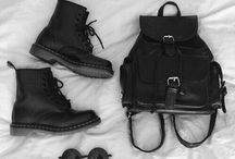 Wear black or stay naked. / BLACK IS SUCH A HAPPY COLOR