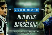 Prediksi Juventus vs Barcelona 23 November 2017