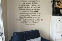 Design Inspiration/ Room Idea