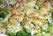 Brokkoli félék receptjei