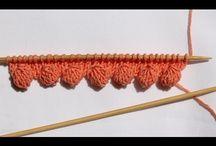 okraj pletení