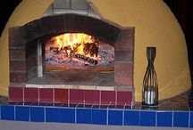 Wood fire oven for the backyard