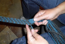 Finger weaving