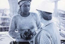 Tradeswomen Archives Project Collection / This collection includes photographs and documents from the Tradeswomen Archives Project, which helps document the growth of the number of women working in construction and other non-traditional fields in Southern California, nationally, and around the world.