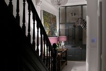Making an Entrance Hallways & Stairs / Make a fabulous entrance with these inspirational hallway ideas. We've added landings & stairs too! Monochrome, dark interiors & Mid Century Modern design.