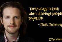 Quotes / Quotes that are related to technology or are derived by great tech visionaries.