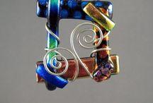 jewelry - fused glass
