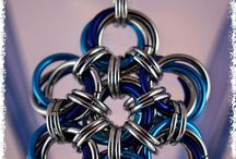 Collier / Necklace Chainmaille / My own creations